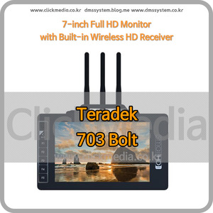 (테라덱 볼트) Teradek 703 Bolt Wireless Monitor